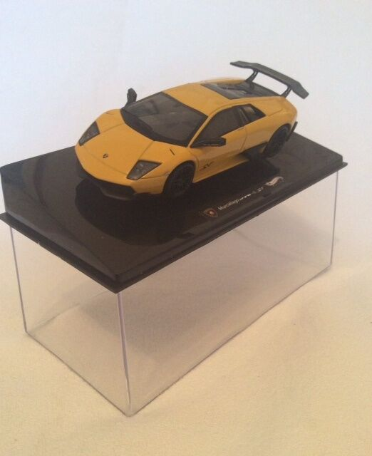 Hot Wheels Elite - 1.43 Scale Lamborghini Murcielago LP LP LP 670-4 SV in Yellow. ee2db2
