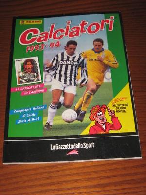 ALBUM CALCIATORI FIGURINE PANINI GAZZETTA DELLO SPORT 1993//94 1993 1994