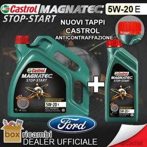 Olio CASTROL MAGNATEC 5W20 E ORIGINALE FORD 5 LT Litri - CASTROL ITALIA