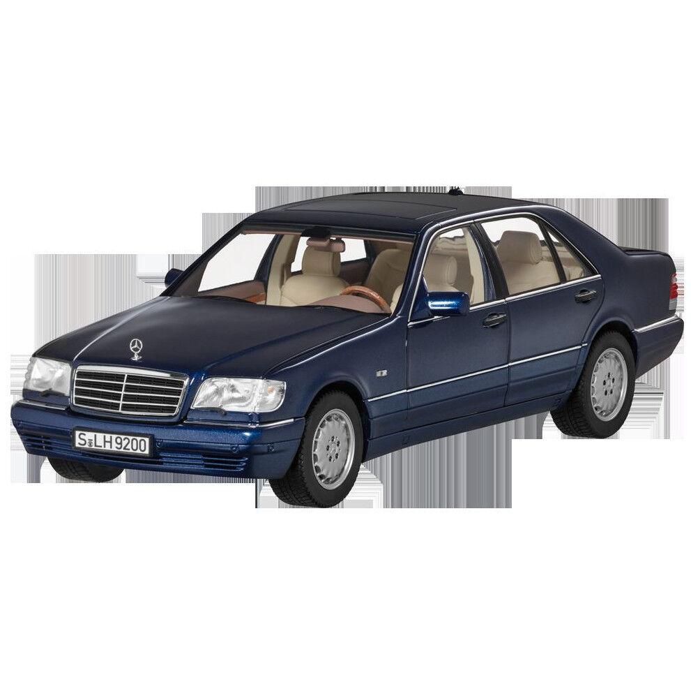 Mercedes Benz W   V140 CLASE S 500 Version Larga Facelift blu Azurita 1 18