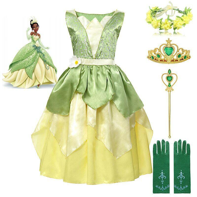 Princess and the Frog Dress Up