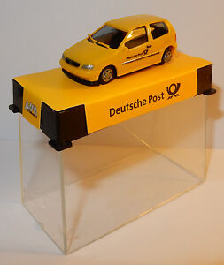 MICRO-AWM-HO-1-87-VW-VOLKSWAGEN-POLO-DEUSTCHE-POST-POSTE-ALLEMANDE-IN-BOX