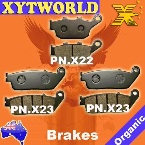 Front Rear Brake Pads Honda CBR250 CBR 250 R RR MC22