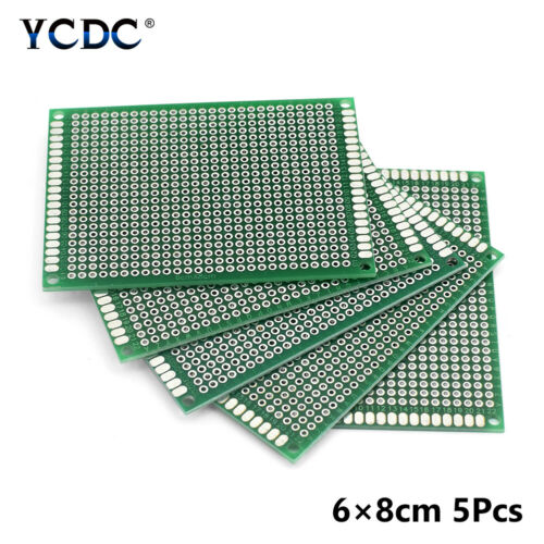 One//Duel-sided Prototyping PCB Circuit Board Strip Breadboard DIY For Arduino