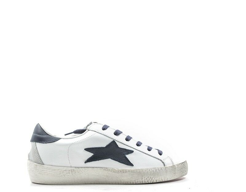 shoes Ishikawa Woman Sneakers Trendy White Leather Natural 1536bb