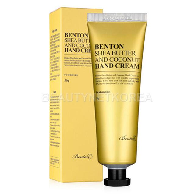 [Benton] Shea Butter And Coconut Hand Cream 50g - BEST Korea Cosmetic