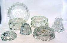 Vintage Antique Crystal Glass Lamp Replacement Parts Base Spacer Restoration
