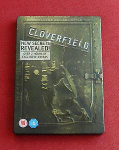 Cloverfield-2-Disc-Steelbook-R2-DVD-Mike-Vogel-Odette-Yustman-JJ-Abrams