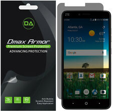2-Pack Dmax Armor Privacy Anti-Spy Screen Protector for ZTE Blade X Max