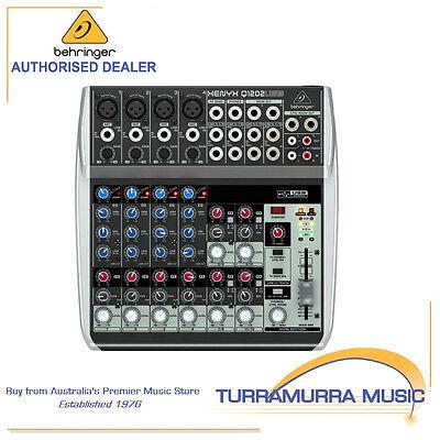 Behringer Xenyx Q1202USB 12-Input Audio Mixer with USB/Audio Interface