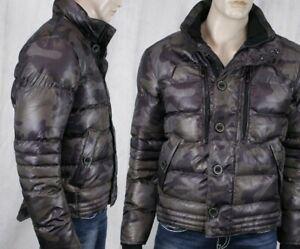 Details zu WELLENSTEYN USA men's STARDUST puffy camouflage brown winter Jacket coat STAD466