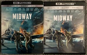 MIDWAY-4K-ULTRA-HD-BLU-RAY-2-DISC-SET-SLIPCOVER-SLEEVE-BASED-ON-REAL-EVENTS