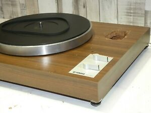 Yamaha yp-450 Vintage Belt Drive Hi Fi Nutzung Record Vinyl Player Plattenspieler Deck