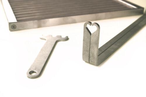 8mm Maßanfertigung Grill Griller Rost ~ GRILLROST ~ ZERLEGBAR ~ Edelstahl 6mm