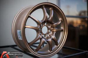 16x7-Full-Royal-Sport-Bronze-Wheels-Rota-Circuit-10-4x100-45-Set-of-4
