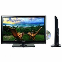 Portable 19 Hd Hi Def Tv And Dvd Player Combo With 12v Volt Car Cord