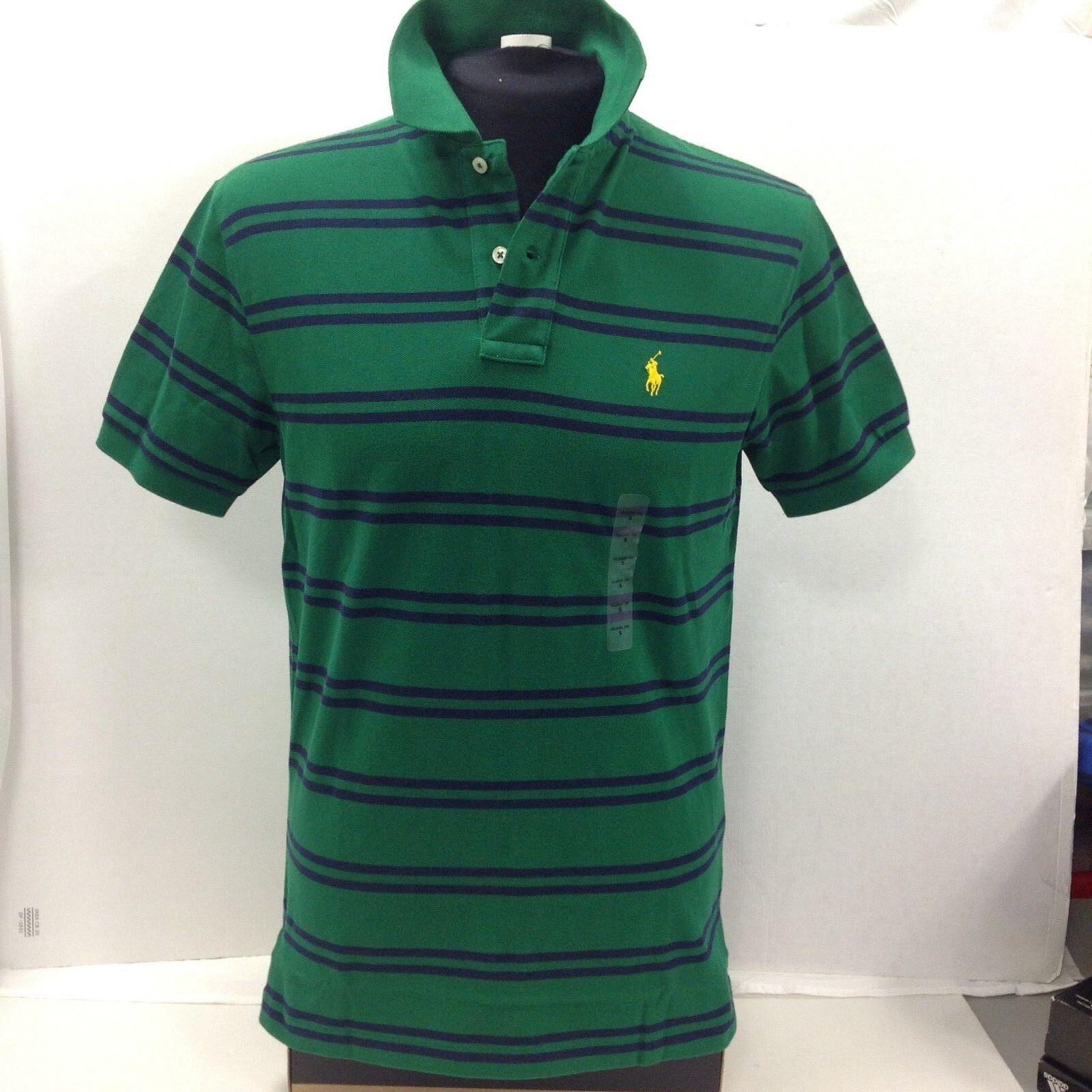 Polo Ralph Lauren Double Stripe Men's Polo-Shirt, Size S