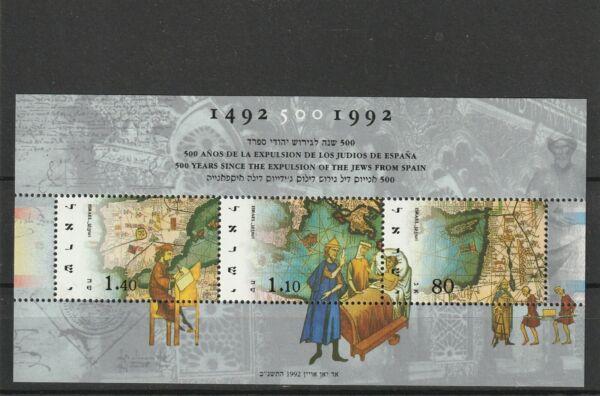 A119-israël-mbs 1169 Neuf Sans Charnière 1992 500th Anniv Expulsion Des Juifs D'espagne Une Grande VariéTé De ModèLes