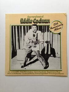 The Very Best Of Eddie Cochran 15th Anniversary Album Fame