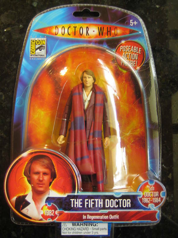 Doctor Who SDCC 2010 The Fifth Doctor.DR.WHO SOLD FAST