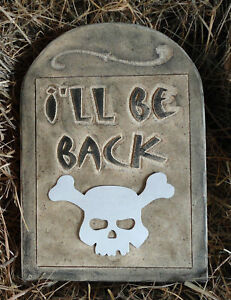 "Tombstone plastic mold reusable Halloween casting mould 13.5/"" x 10/"" x 1.5/"" thick"