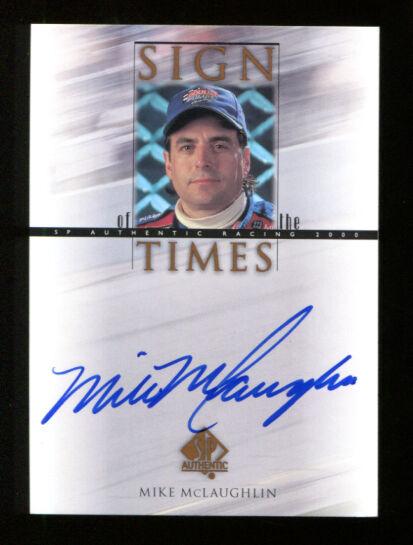 Mike McLaughlin 2000 SP Authentic Sign Times Auto Mint 3278