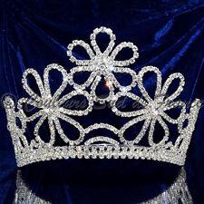 """Bijou de tête diadème Miss accessoire cheveux mariage cristal clair """"parfum"""""""