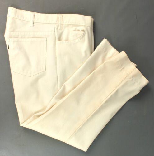 Men's 1960s Levis Tapered Leg White Big E Jeans 34