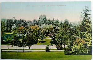 Vintage-divided-back-postcard-Edw-H-Mitchell-1909-1910-Wright-039-s-Park-Tacoma-WA