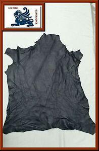 Ziegenleder-Lila-Traube-Knautsch-Lederhaut-Echt-Leder-Polsterleder-60x45-AN2