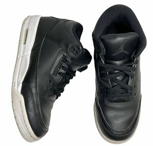 2016-Nike-Air-Jordan-Retro-3-Size-6-5Y-034-Cyber-Monday-034-Black-White-GS-398614-020