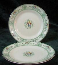 Two - WEDGWOOD - AGINCOURT - GREEN - BREAD & BUTTER PLATE'S