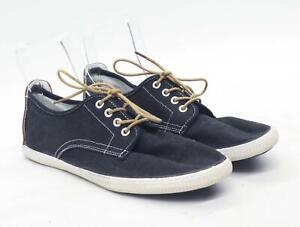 Lee-Cooper-Herren-UK-Groesse-10-schwarz-Sneaker