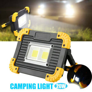 Fine Details About 20W Led Light Rechargeable Car Outdoor Camping Work Torches Usb Charging Lamp Uk Home Remodeling Inspirations Basidirectenergyitoicom