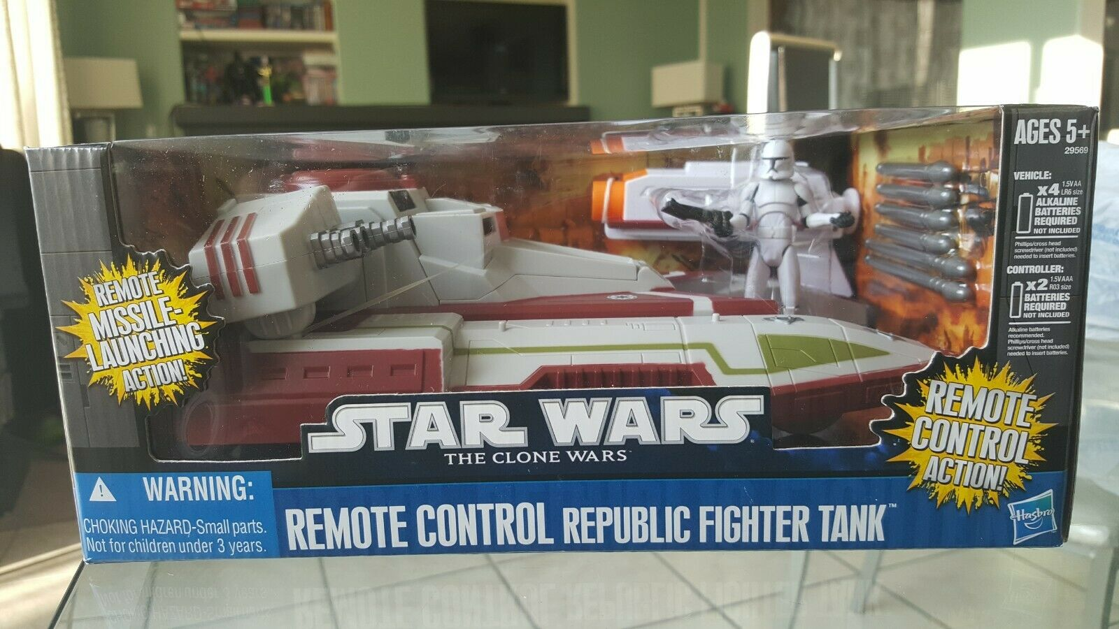 New Star Wars The Clone Wars Remote Control Republic Fighter Tank