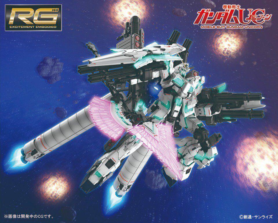 RG RX-0 UNICORN [FULL ARMOR ver] verde frame 1/144 Bandai NEW [PREORDER]