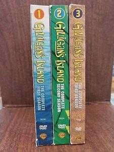 Gilligans-Island-The-Complete-Seasons-1-3-DVD-2005-9-Disc-Set
