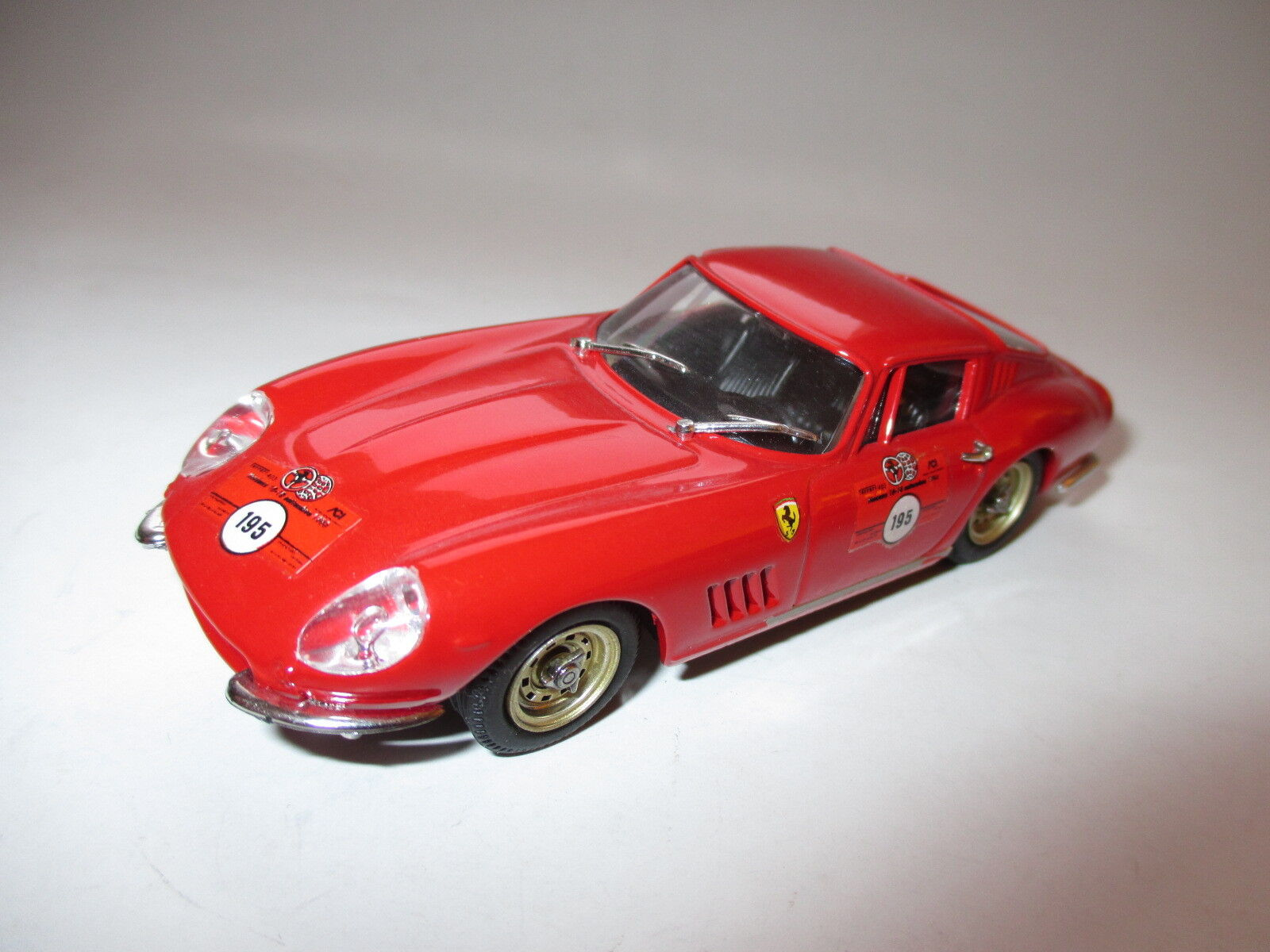 Rennwagen racing car Ferrari 275 GTB 4 Rally Rallye Best in 1 43