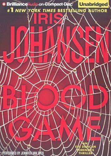BLOOD GAME unabridged audio book on CD by IRIS JOHANSEN - Brand New! 8.5 Hours!