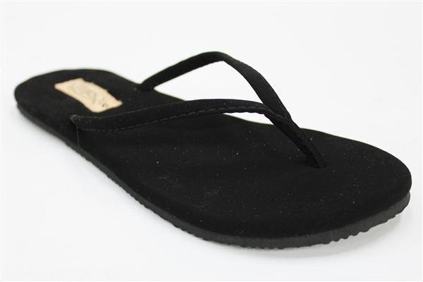 Flojos Black FIESTA 7 Flip Flop Sandals * Sz 7 FIESTA * NWT bd80fa