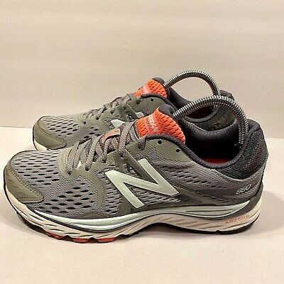 New Balance NB Size 9 Women's 880 v6 Running Shoes Gray/Orange ...
