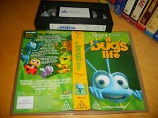 Vhs *A BUGS LIFE* Australian Issue - Walt Disney/Pixar - Animation Classic!