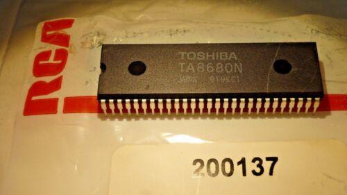 2 PIECES TA8680N IC qzty DIP