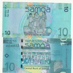 Samoa-10-Tala-2008-FDS-UNC-Pick-39-lotto-4240