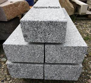 Blockstufe Lausitzer Granit Trittstufe Treppenstufe Aussentreppe ...