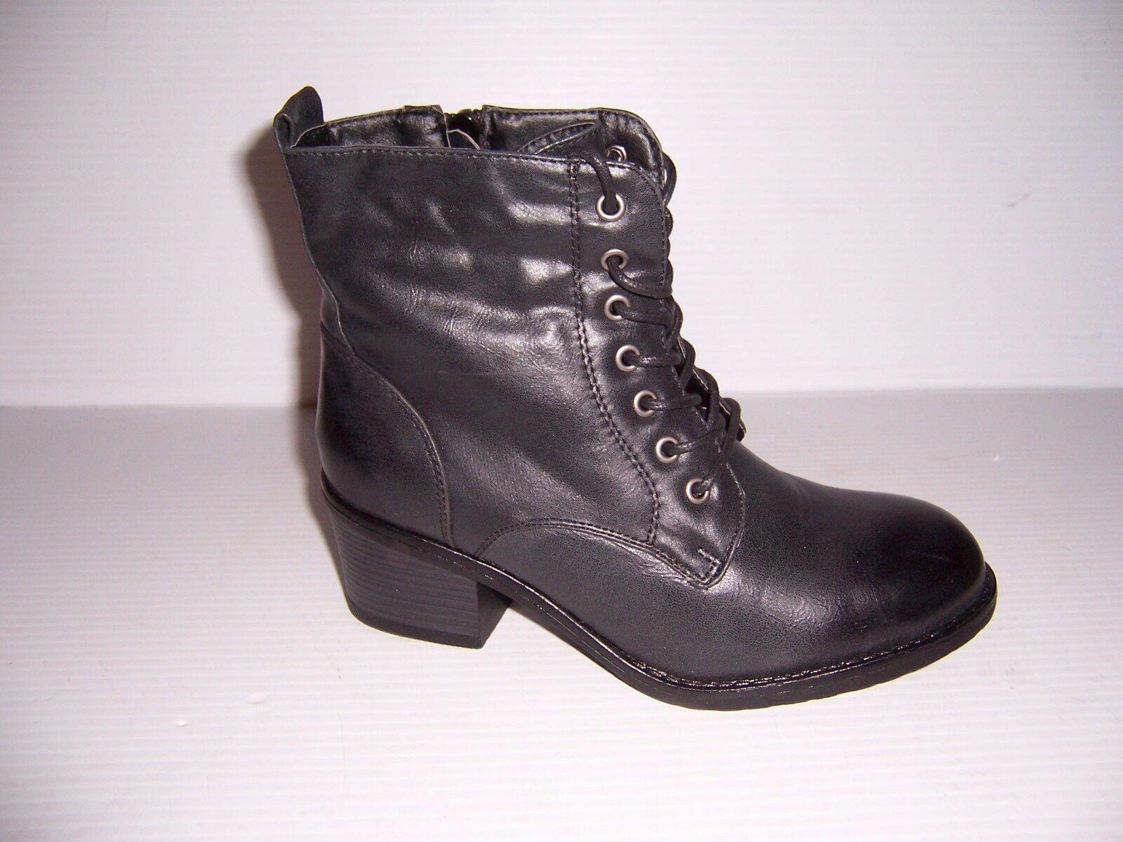 HOTCAKES Women's Black Flipper Granny Ankle Designer Boots Various Sizes NEW!