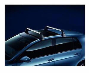 Volkswagen-Grundtraeger-Dachtraeger-4-Tuerer-Satz-fuer-Golf-7-5G4071126