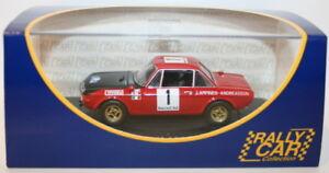 Ixo-1-43-scale-LANCIA-FULVIA-1-6-Coupe-HF-Maroc-1972-Lampinen-Andreasson