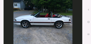 Ford Mustang LX 1987 cabrio