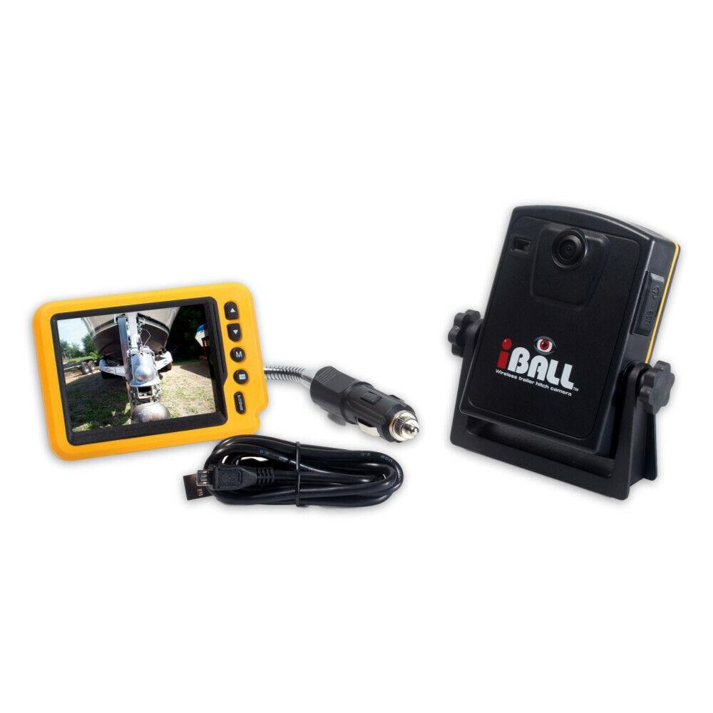 Aqua Vu iBall Inalámbrico 5.8Ghz Cámara Enganche de remolque